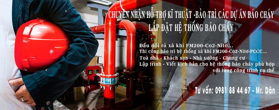 Dịch vụ bảo trì sửa chữa hệ thống báo cháy chữa cháy
