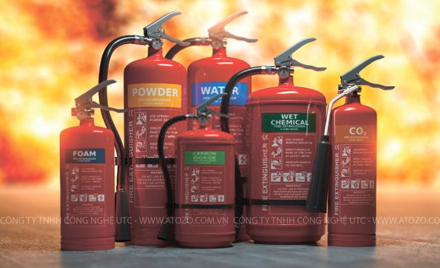 Các chất chữa cháy thông dụng